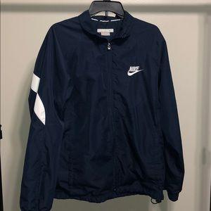 Nike Medium Mens Blue Rain / Warm Jacket